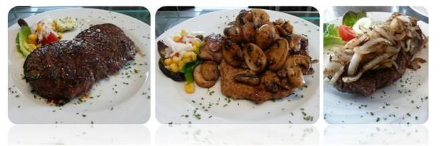 Rumpsteak, Holzfällersteak, Steaks vom Grill in Hennef, la vida loca